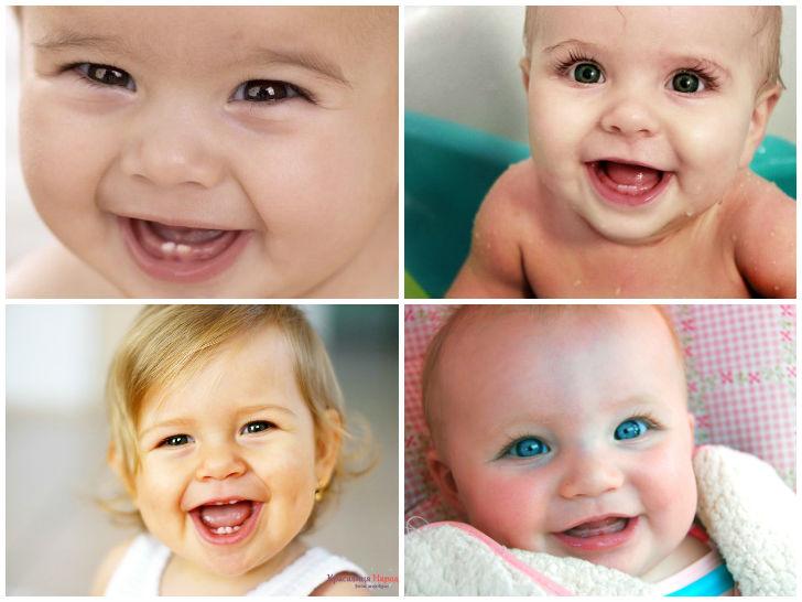 во сколько режутся первые зубы